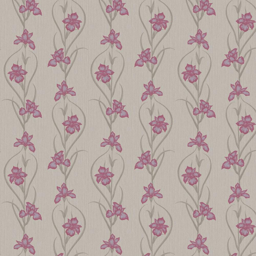 Akiko Wallpaper - Taupe - by Fardis