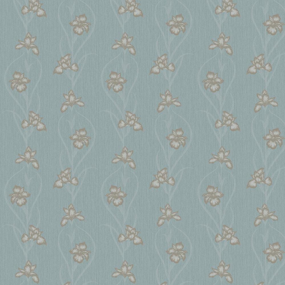 Akiko Wallpaper - Blue - by Fardis