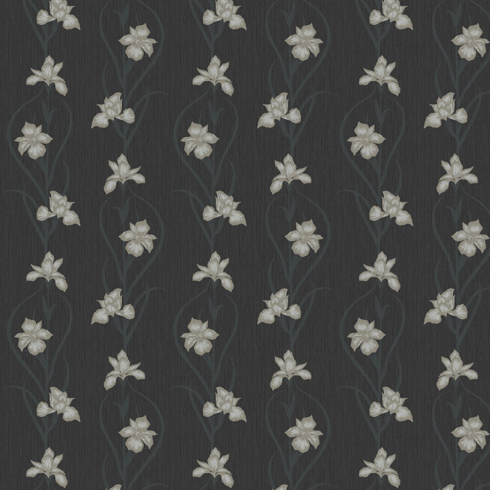 Akiko Wallpaper - Black - by Fardis