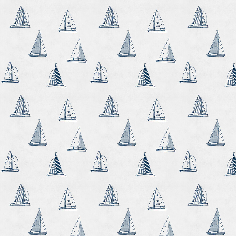 Coordonne Eslora Navy Wallpaper - Product code: 8500020
