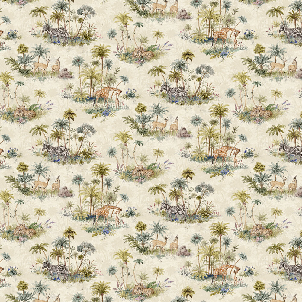 On Safari Wallpaper - Beige - by Graduate Collection