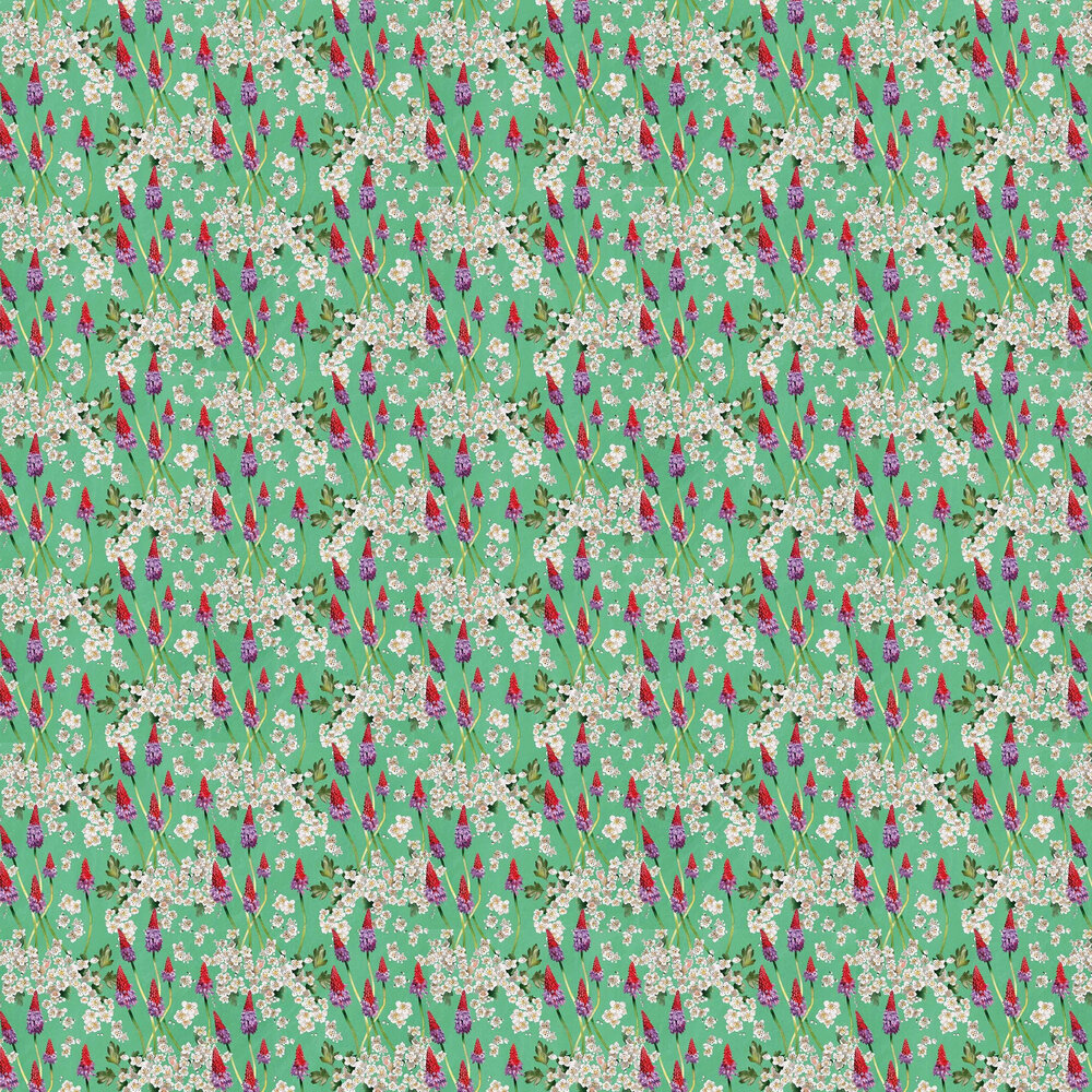 Hawthorn Nebula Wallpaper - Rabbits Ear - by Sand & Sushi