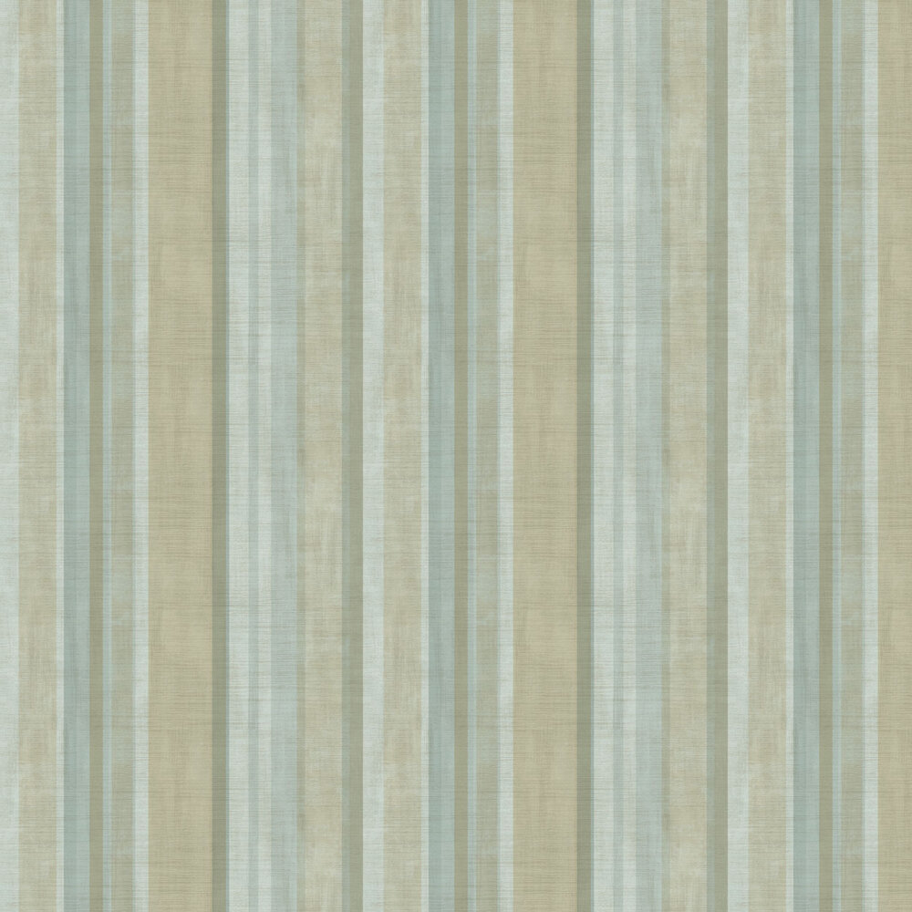 Fascia Netto Wallpaper - Cold Green - by Galerie