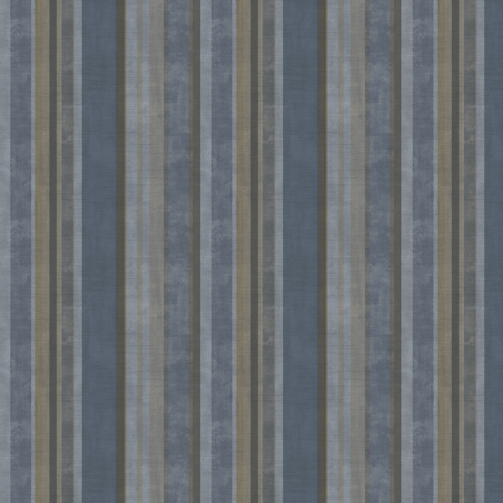 Fascia Netto Wallpaper - Blue - by Galerie