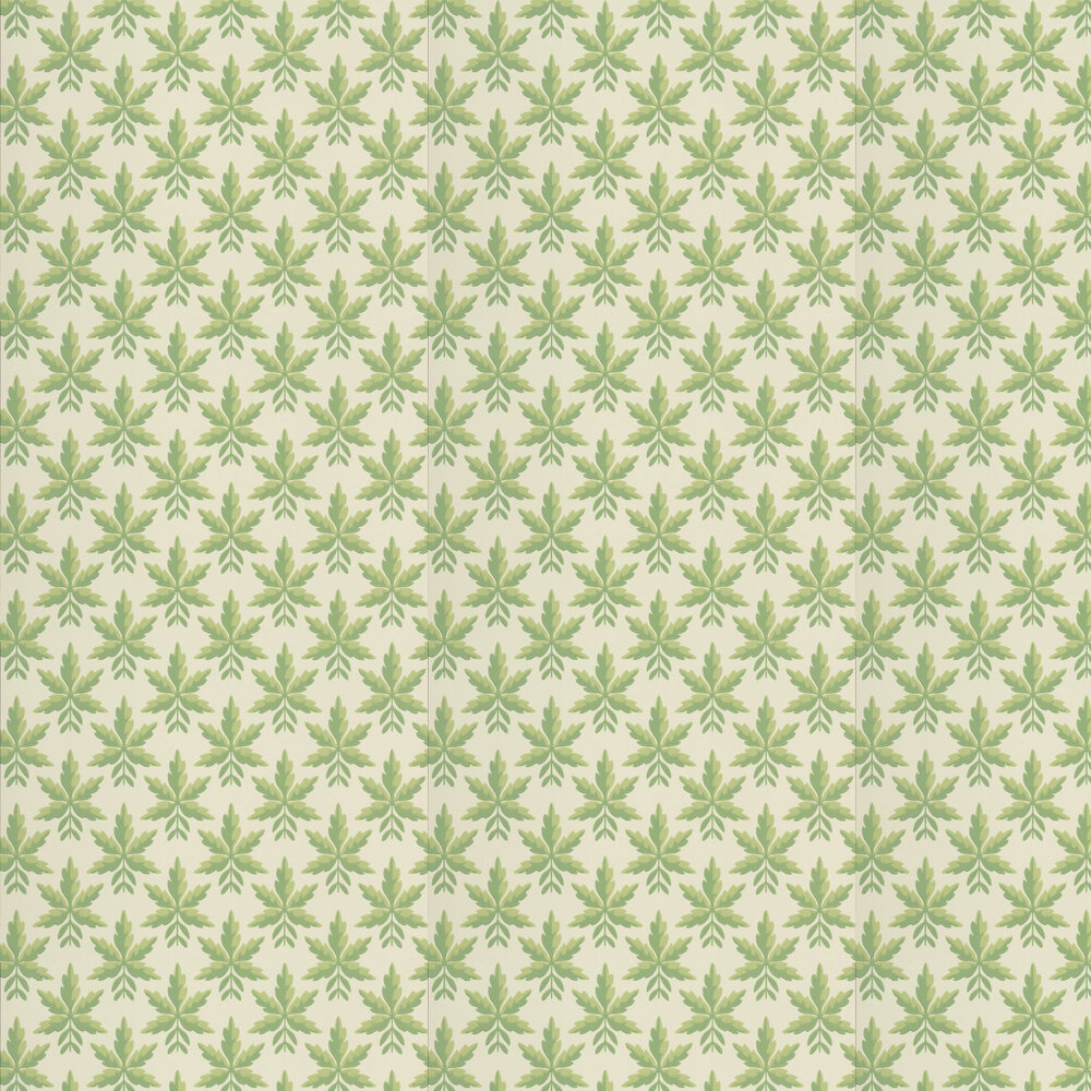 Clutterbuck Wallpaper - Lodge - by Little Greene