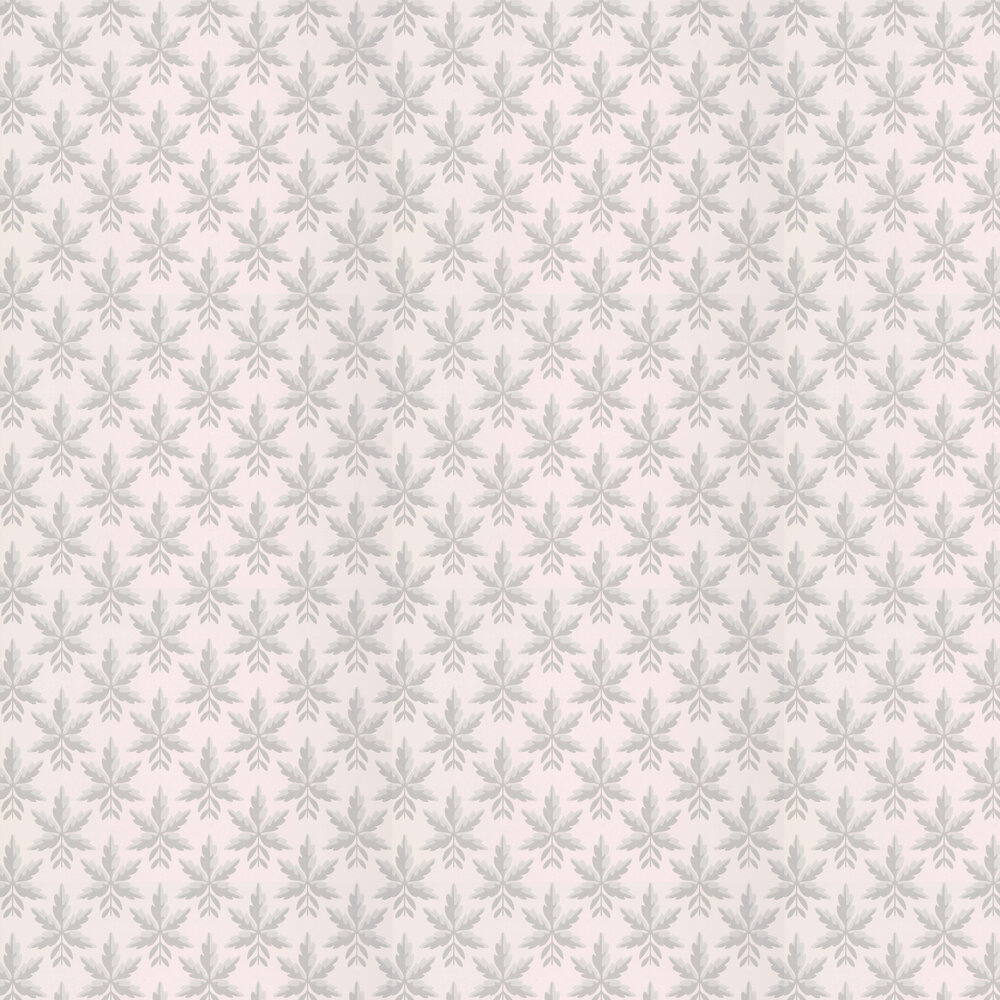 Clutterbuck Wallpaper - Puce - by Little Greene