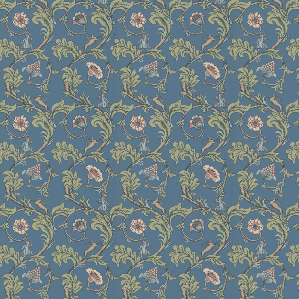 Little Greene Stag Trail Juniper Wallpaper - Product code: 0245STJUNIP