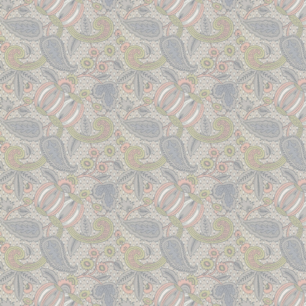Little Greene Pomegranate Pastel Wallpaper - Product code: 0245POPASTE