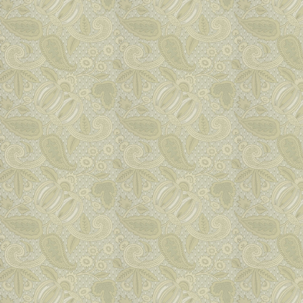 Little Greene Pomegranate Green Scale Wallpaper - Product code: 0245POGREEN