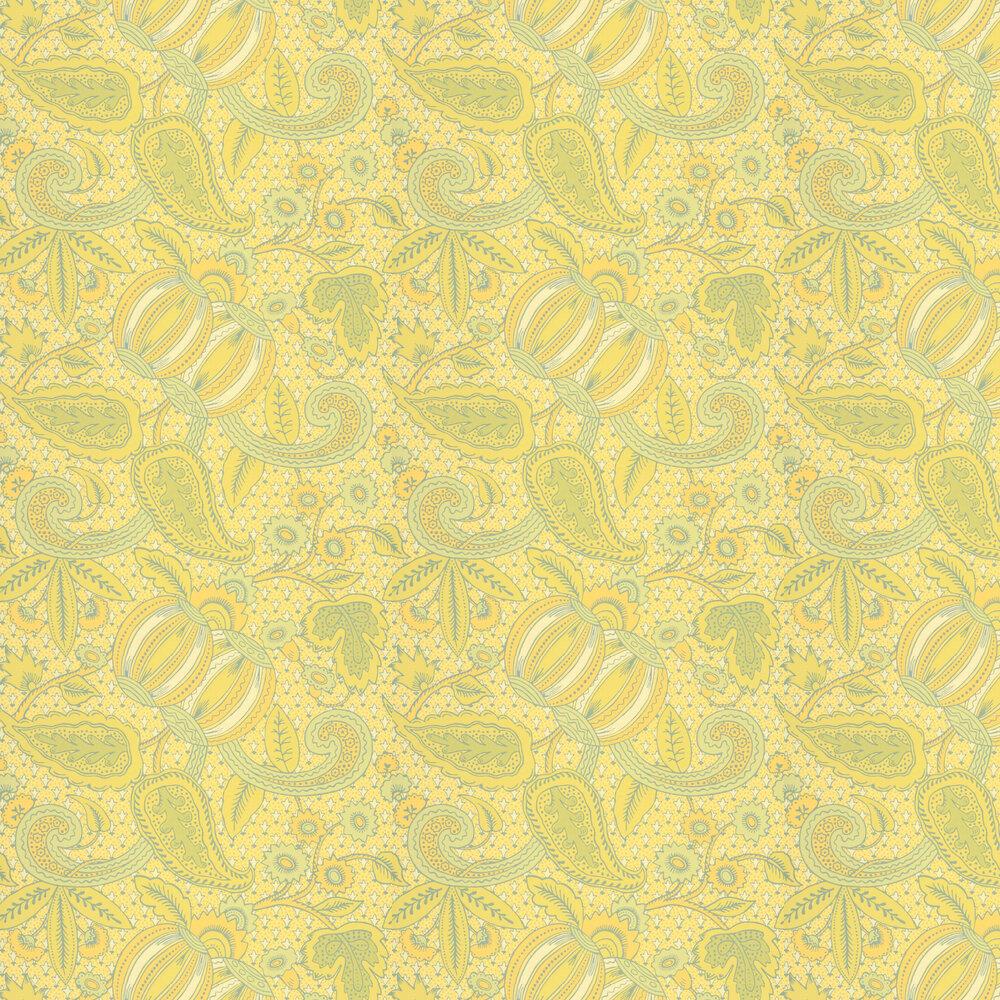 Little Greene Pomegranate Citron Wallpaper - Product code: 0245POCITRO