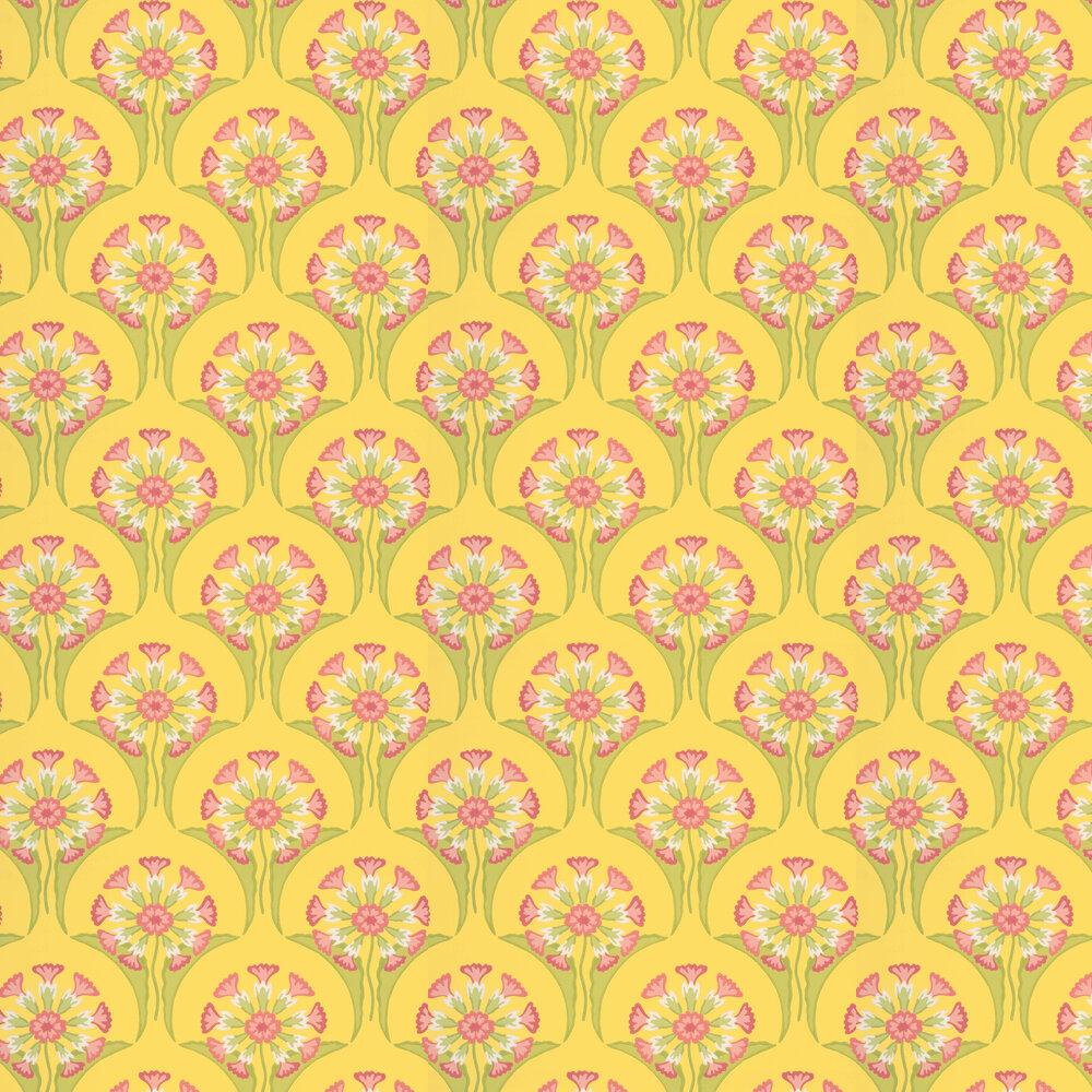 Hencroft Wallpaper - Punch - by Little Greene