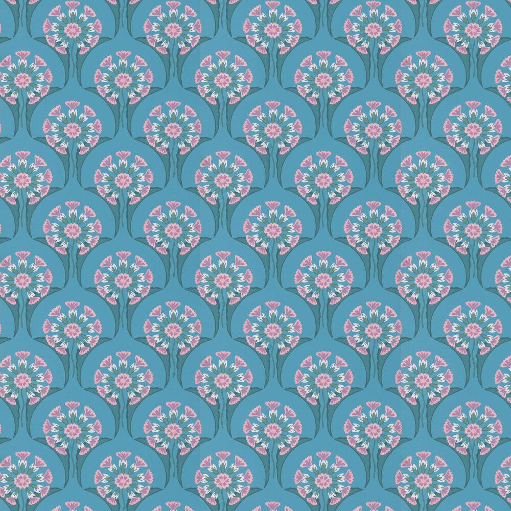 Little Greene Hencroft Azure Wallpaper - Product code: 0245HEAZURE
