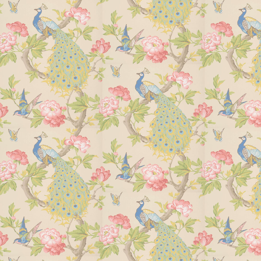 Little Greene Pavona Hazel Wallpaper - Product code: 0245PAHAZEL