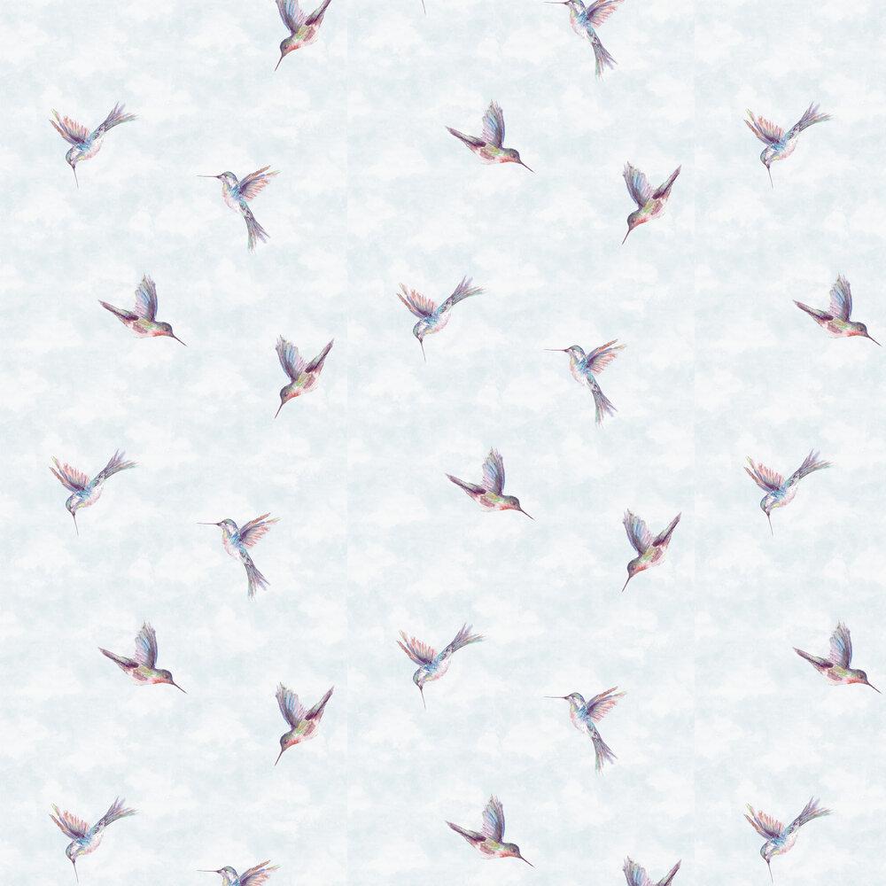 Woodstar Wallpaper - Pastel - by Clarke & Clarke