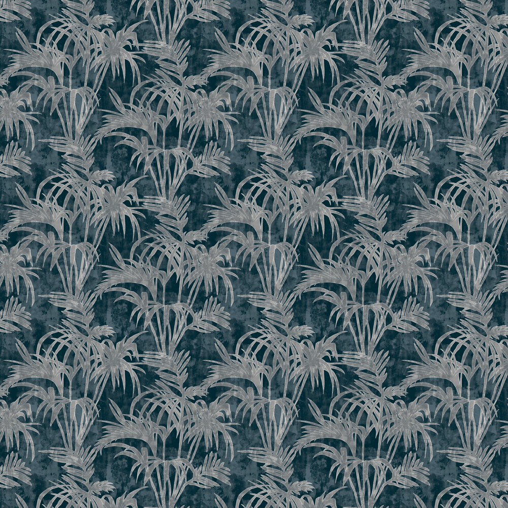 Clarke & Clarke Tropicale Midnight Wallpaper - Product code: W0128/02