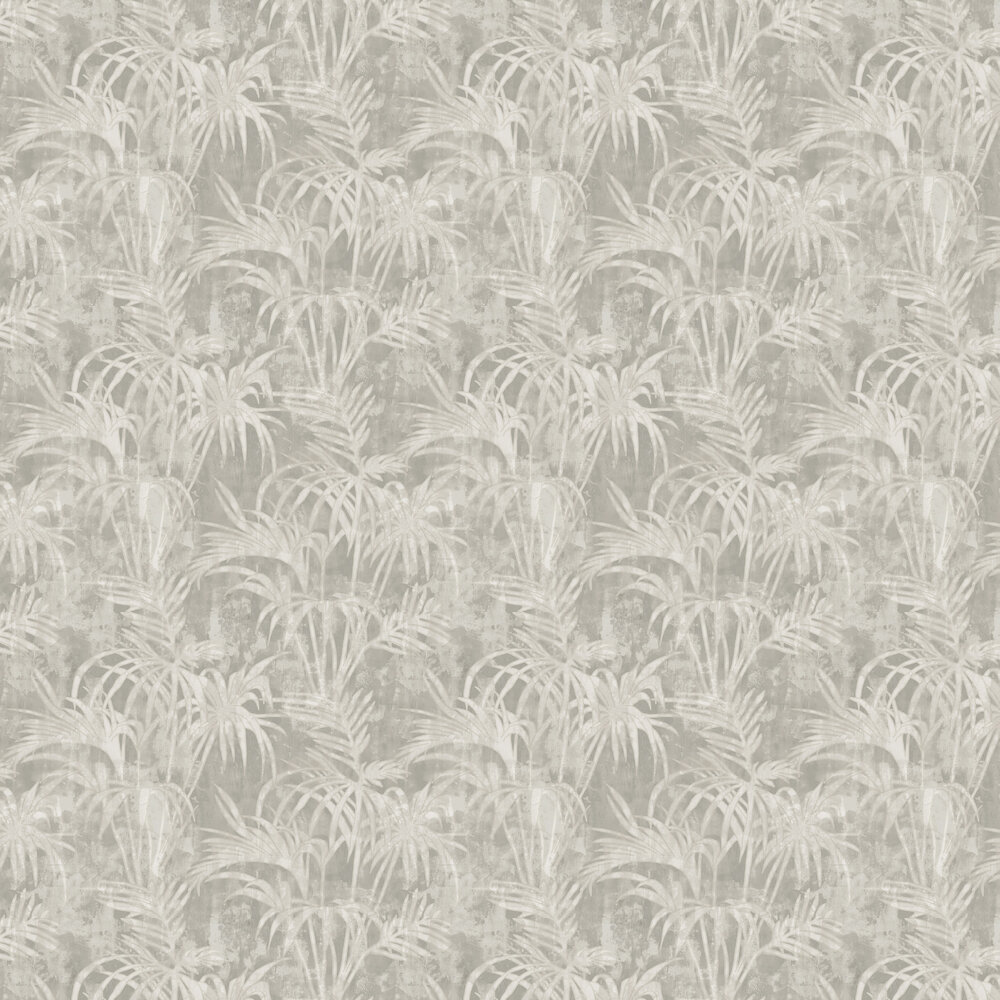 Clarke & Clarke Tropicale Putty Wallpaper - Product code: W0128/03
