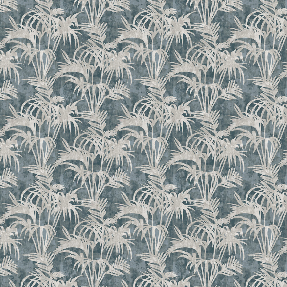 Tropicale Wallpaper - Slate - by Clarke & Clarke