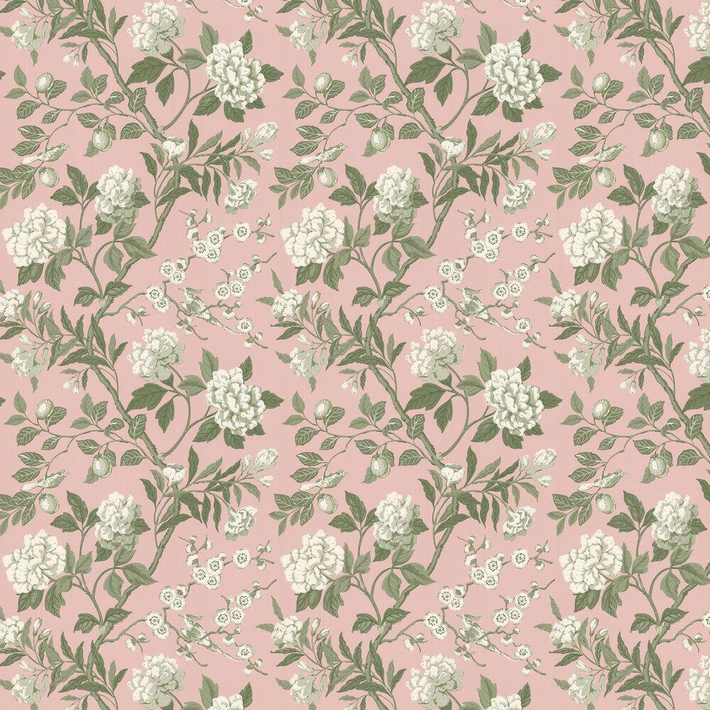 Emperors Garden Wallpaper - Blush - by G P & J Baker