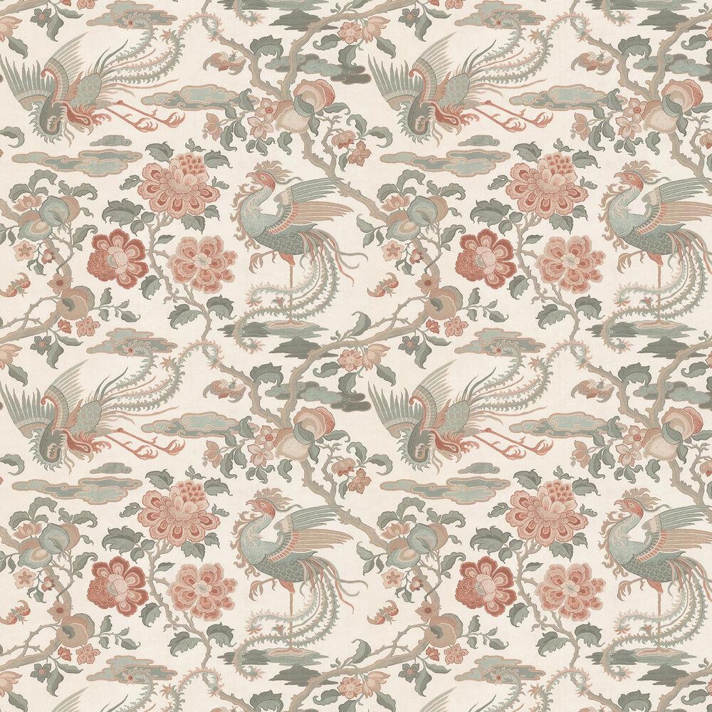 Chifu Wallpaper - Linen - by G P & J Baker
