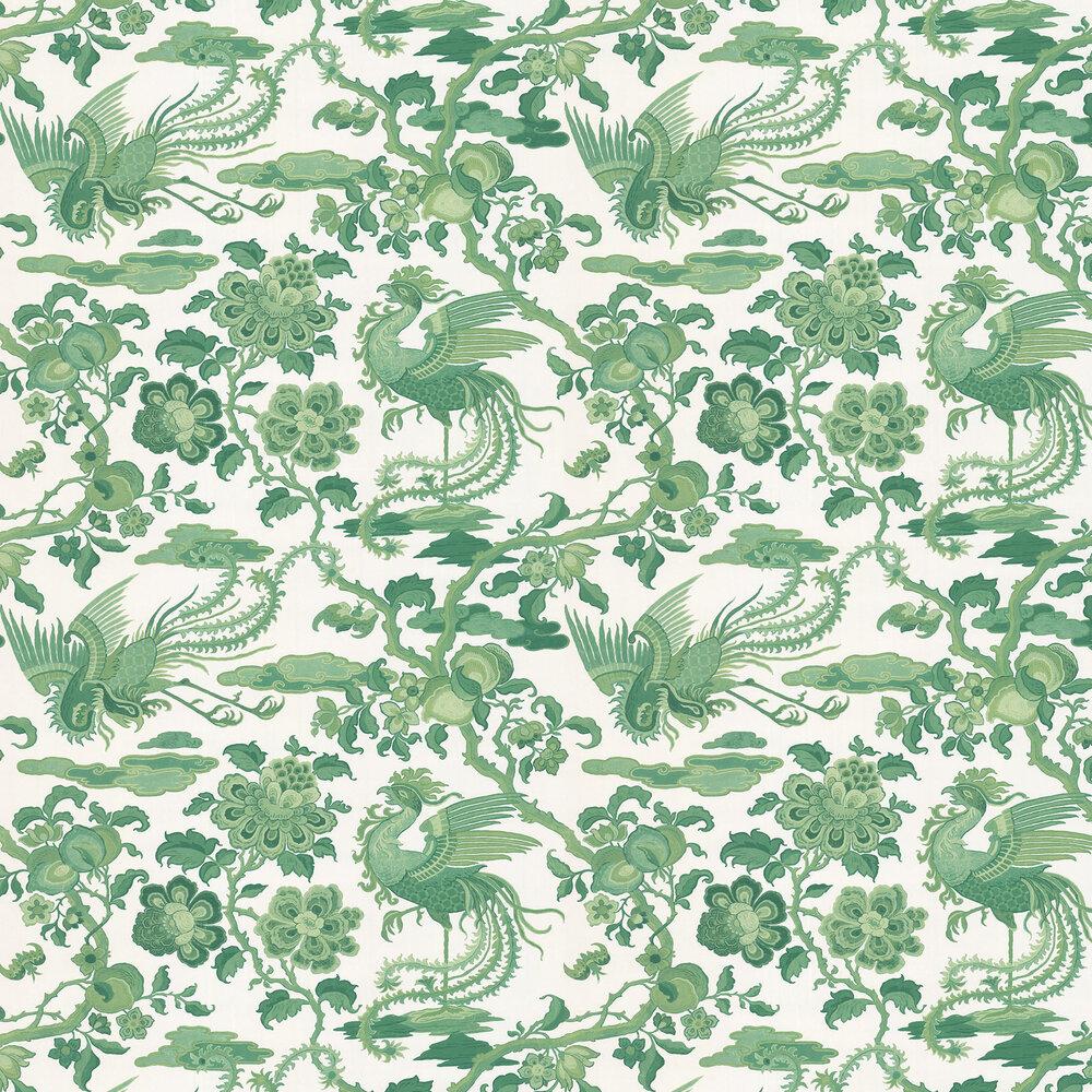 G P & J Baker Chifu Green Wallpaper - Product code: BW45087/3