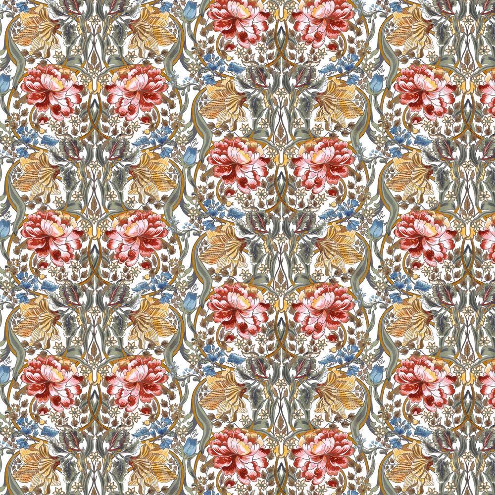Belle-Epoque Wallpaper - Multi-coloured - by Coordonne
