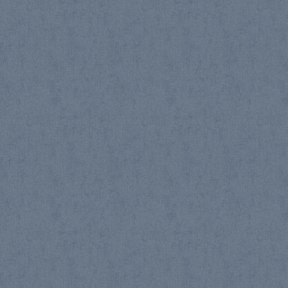 Plaster Plain Wallpaper - Denim - by New Walls