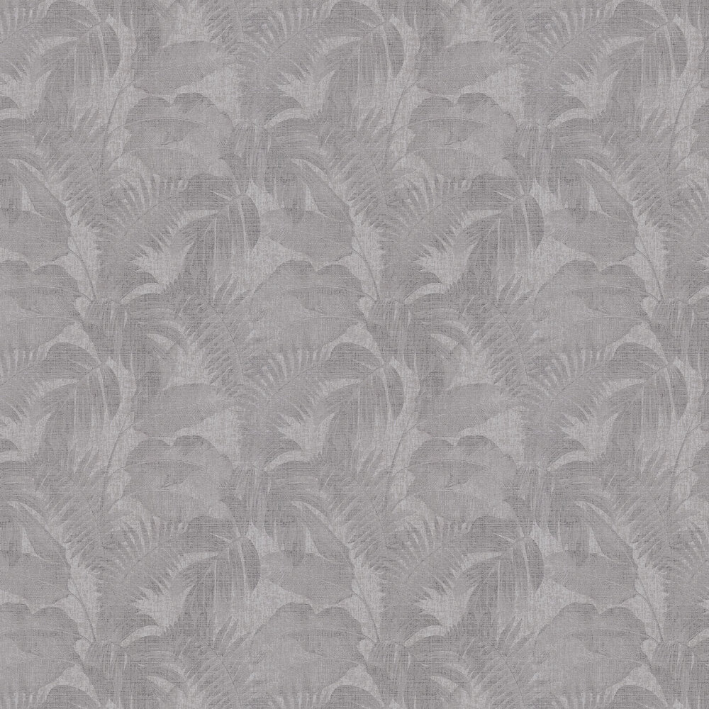 Palm Wallpaper - Grey - by New Walls