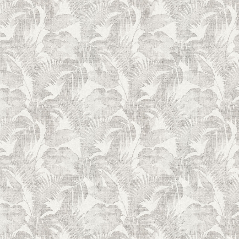 Palm Wallpaper - Taupe - by New Walls