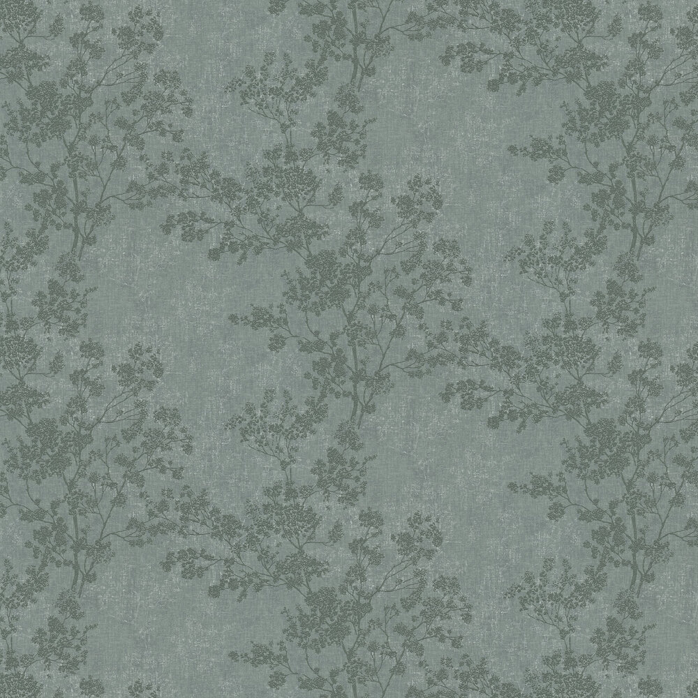 Branches Wallpaper - Green - by New Walls