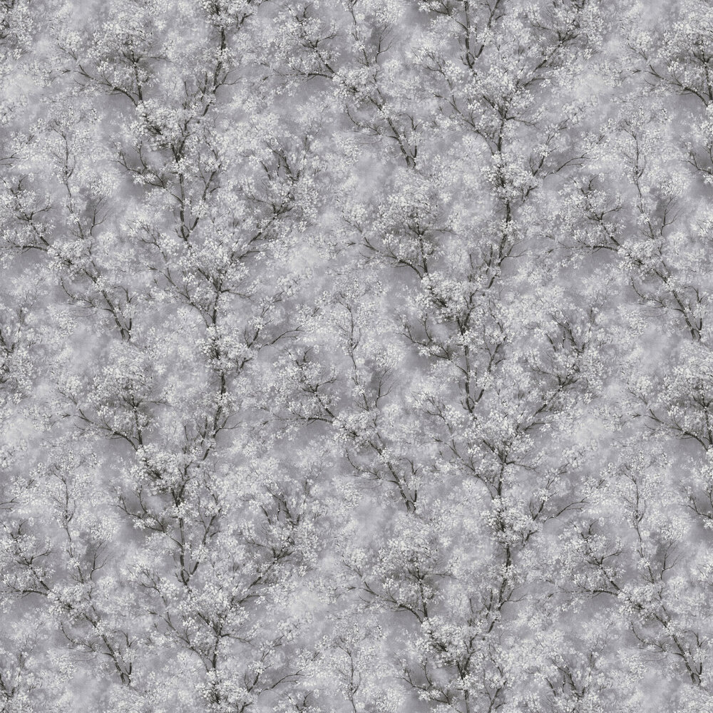 Treescape Wallpaper - Grey - by New Walls