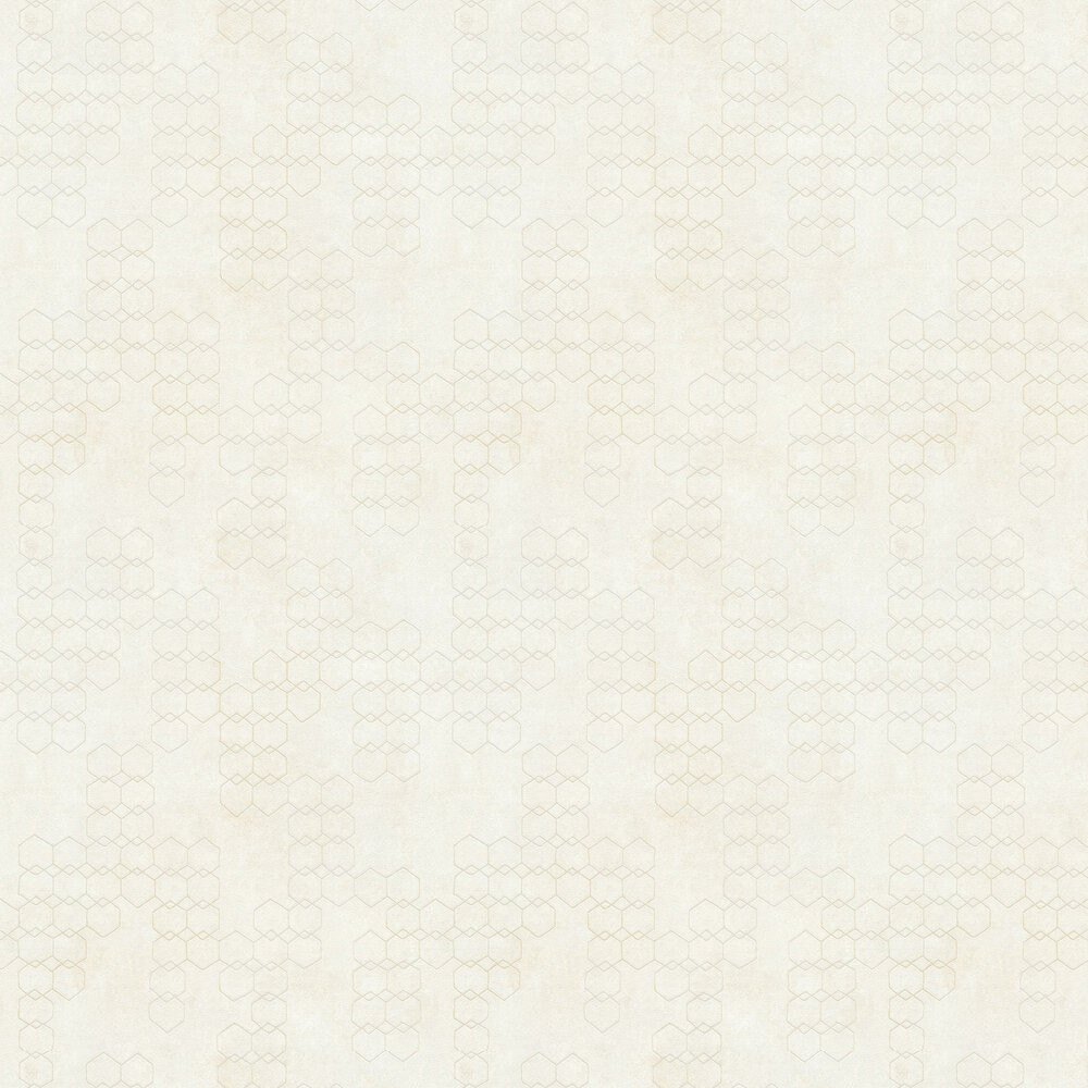 Hex Wallpaper - Ivory - by New Walls