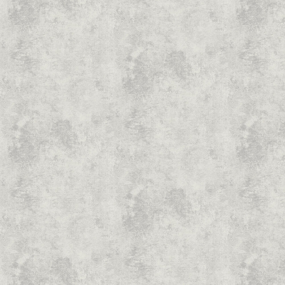 Distressed Plaster Wallpaper - Grey - by New Walls