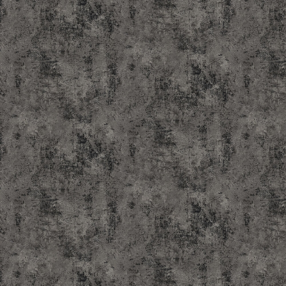 Distressed Plaster Wallpaper - Carbon - by New Walls