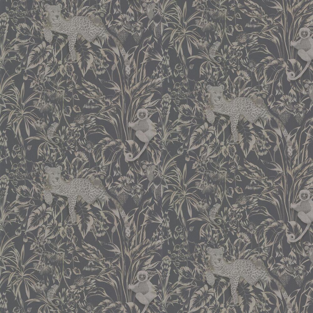 Lengau Wallpaper - Slate - by Harlequin