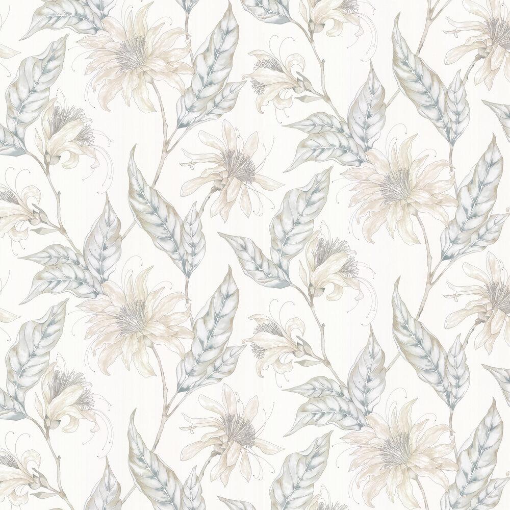 Ananda Wallpaper - Pearl - by Harlequin
