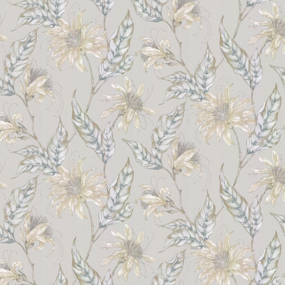 Ananda Wallpaper - Platinum - by Harlequin