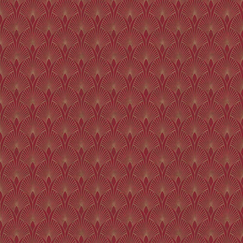 Fan Wallpaper - Red - by New Walls