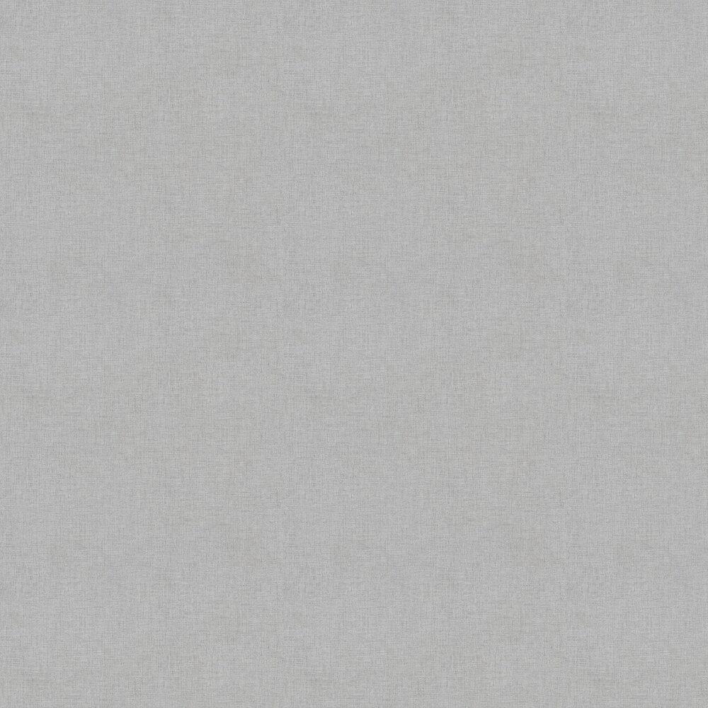 Woven Plain Wallpaper - Grey - by New Walls