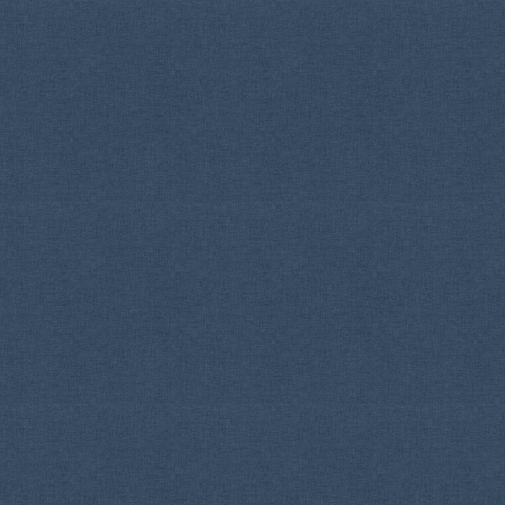 Woven Plain Wallpaper - Navy - by New Walls