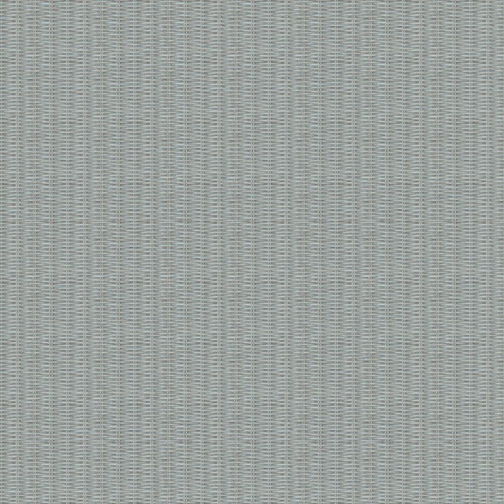 Weave Basket Wallpaper - Mint - by New Walls