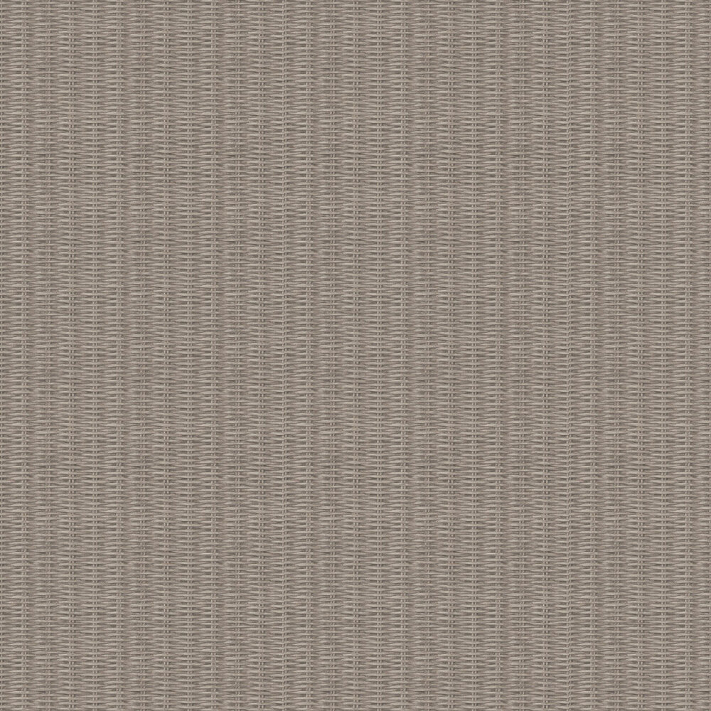 Weave Basket Wallpaper - Taupe - by New Walls