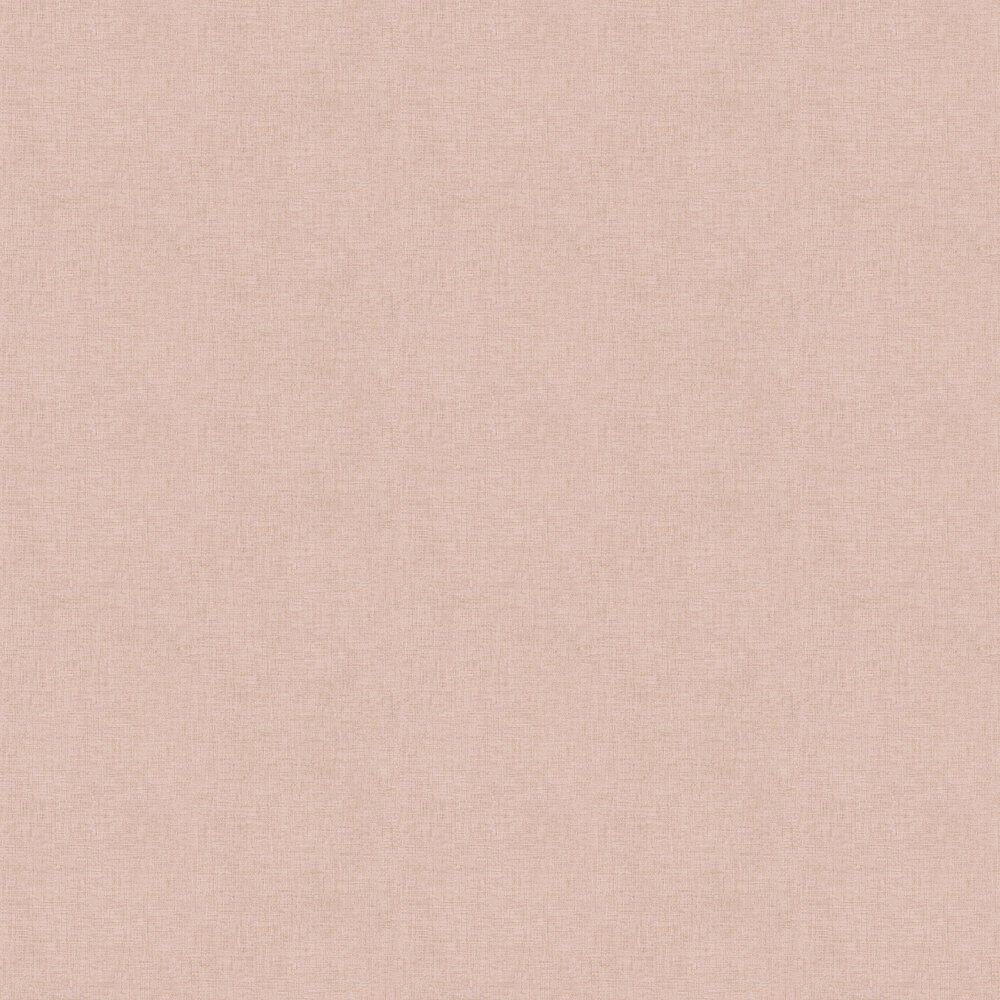 Woven Plain Wallpaper - Pink - by New Walls