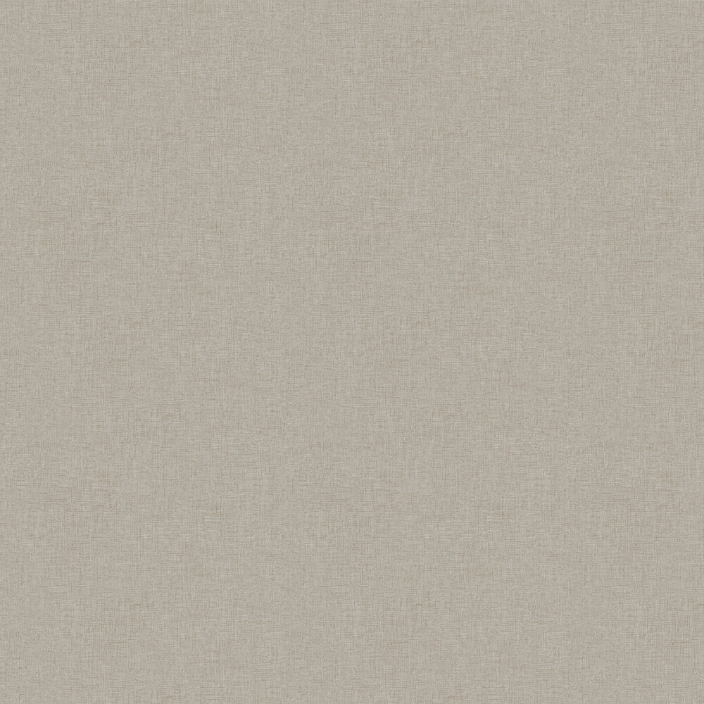 Woven Plain Wallpaper - Taupe - by New Walls