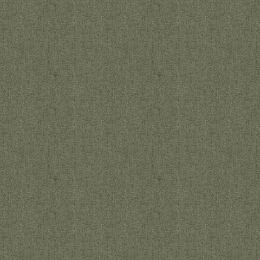 Woven Plain Wallpaper - Sage - by New Walls