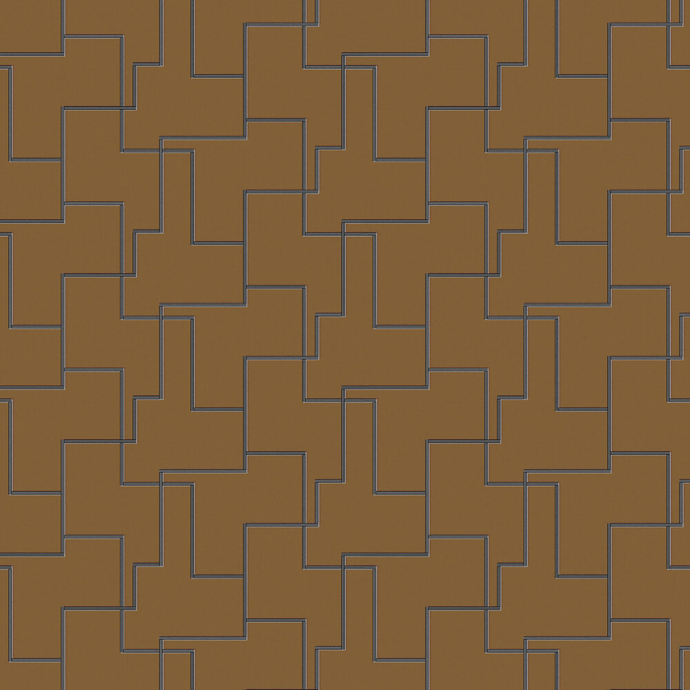 Khrôma by Masureel Christo Gold Wallpaper - Product code: FOL204
