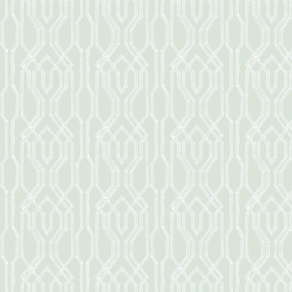 Yugen Wallpaper - Aqua - by Coordonne