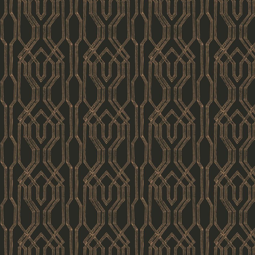 Yugen Wallpaper - Black - by Coordonne