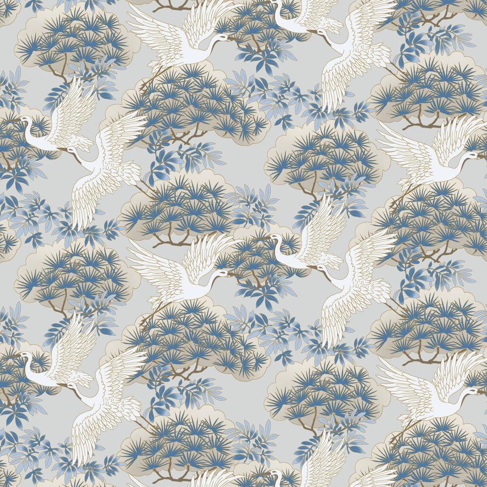 Kuren Wallpaper - Grey - by Coordonne