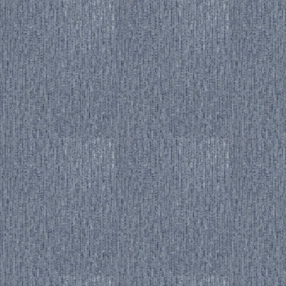 Roka Wallpaper - Navy - by Albany