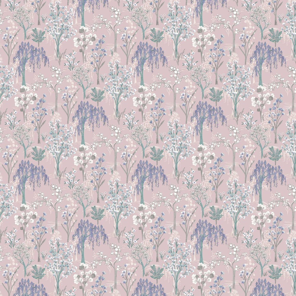 Kieder Wallpaper - Pink - by Albany